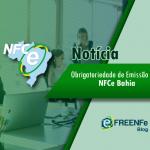 Obrigatoriedade de Emissão para NFCe Bahia